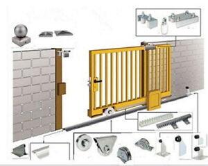 2 X sliding gate wheel for u shape track home security gates UGM102