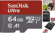 Mini SD Card Adapter Highest Speed SanDisk 64GB Micro Memory