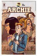 Free P & P: Archie #8 (Jul. 2016) (H) Waid & Fish, Cover 'C', Faith Erin Hicks