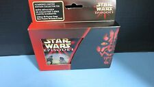 STAR WARS EPISODE 1 NUMBERED LIMITED EDITION COLLECTOR TIN PLAYING CARDS SEALED