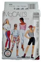 McCalls 5123 Misses Pants Shorts Size 14-16 OOP UNCUT Two-way Stretch Knit