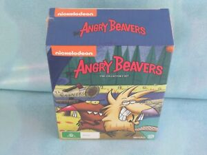 ANGRY BEAVERS THE COLLECTOR'S SET SEASON 1 TO 4 DVD TV NICKELODEON NEW SEALED