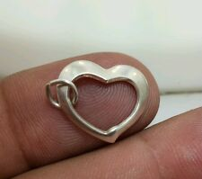 FLOATING HEART .925 Sterling Silver Charm