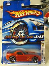 Hot Wheels 2006 Dodge Viper Coupe #012 2006 First Editions