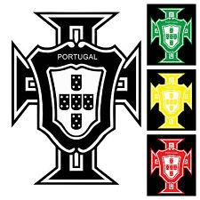 PORTUGAL Portuguese Vinyl Sticker Decal Crest Brasão Bandeira Portuguesa 30x22cm