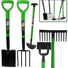 Kingfisher 5pcs Gardening Tool Set Rake Fork Hoe Spade Edge Iron Kit