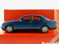 Herpa 031813 Mercedes-Benz E 280 Lim. (1995) in blaumetallic 1:87/H0 NEU/OVP