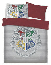 New Harry Potter Double Duvet Quilt Cover Set Boys Girls Children Bedroom Gift