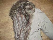 MANTEAU Très chaud - trench-coat IMPER kaki clair doublé fourrure - comme neuf