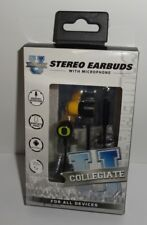 Collegiate Stereo Earbuds with microphone for all devices