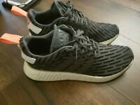 Womens Adidas NMD Gym Shoe, Gray, White and Pink size 10.5