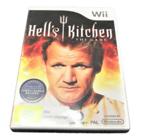 Hell's Kitchen The Game Nintendo Wii PAL *Complete* Wii U Compatible