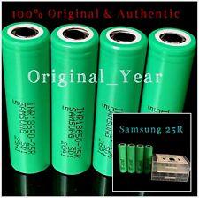 4 SAMSUNG 25R 18650 2500mAh 35A HIGH DRAIN RECHARGEABLE Battery Vape Mods