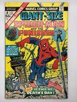 GIANT Size Spider-Man #4 MARVEL 1974 Bronze Age 3rd Punisher 1st Magnum Force
