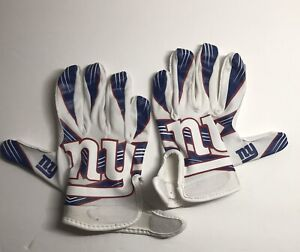 Franklin NFL Youth New York Giants Football Gloves M/L