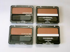 (4) CoverGirl Cheekers Blendable Powder Blush 'Brick Rose' #180, LOT