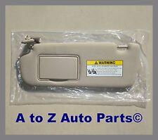 NEW 2006-2008 Hyundai Sonata DRIVER Side GREY SUN VISOR W/Sunroof,OEM Hyundai