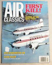 Air Classics Magazine Back Issue July 1991