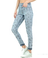 Levis Mile High Jeans Printed Super Skinny High Rise BNWT