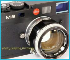 Canon Lens 50mm 1:1.4 FAST! Canon Rangefinder LEICA LTM fit Lens 50mm F1.4