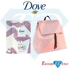 Dove Duo Ladies Body Wash Gift Set & Pretty Pink Rucksack Backpack Gift