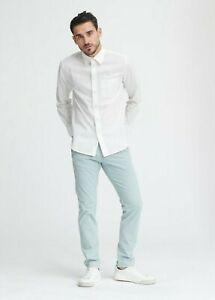 Rag & Bone Men's Shirt Fit 3 Classic Beach White Size Small BNWT's RRP $315.00