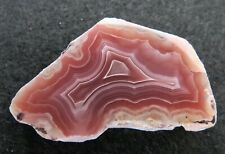 AGATES: Laguna Agate Polished Slab Mexican Banded COMPLETE PATTERN!