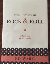 The History of Rock and Roll Vol. 1 : 1920 -- 1963 by Ed Ward (2016, Hardcover)