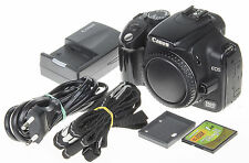 Canon EOS 350D / Digital Rebel XT 8MP DSLR camera +1Gb CF memory card