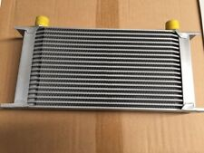 SALE-UNIVERSAL ALUMINIUM 19-ROW OIL COOLER AN.10 FITTING FOR RB20 RB25 RB30 SR20