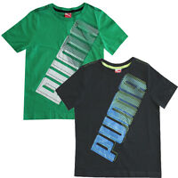 Puma No1 Story Boys Kids Cotton Short Sleeve T-Shirts 816858 01 02 RW62 RW64