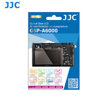 JJC GSP-A6000 9H Tempered Glass Clear LCD Screen Protector for Sony A6500 A