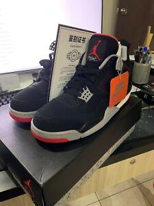 BRIB Nike Air jordan 4 Bred / Black Cement 2019 US10.5 Not Yeezy,Adidas