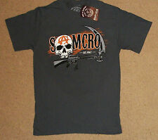 Sons of Anarchy Samcro Reaper Rifle Sythe Shirt Small NWT Official Licensed
