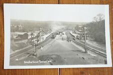 More details for dore & totley railway station train postcard