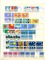 Schweiz Satzposten 1939 - 1989 gest., ca. 257 Sätze