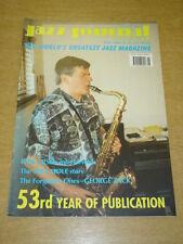 JAZZ JOURNAL INTERNATIONAL VOL 53 #5 2000 MAY PHIL URSO MIFF MOLE GEORGE ZACK