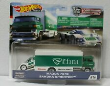 Hot Wheels Premium Team Transport Mazda 787B Sakura Sprinter #16