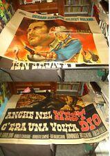 ANCHE NEL WEST C'ERA UNA VOLTA DIO manifesto 4F originale 1968 R. HARRISON