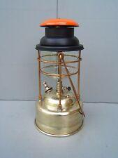 Tilley oil lamp Pork Pie  X246 Orange top  working cleaned polished TL29