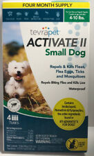 TevraPet Activate Ii Flea and Tick Topical Small Dog 4-10 lbs.