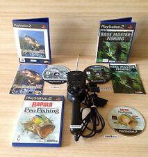 SONY PS2 3 GAME FISHING BUNDLE
