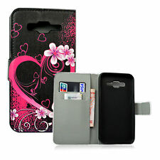 Wallet Leather Case Magnetic Card Holder Stand Cover For Samsung Galaxy J5 2015