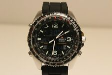 "RETRO JAPAN ANA-DIGI ALARM CHRONOGRAPH MEN'S WATCH ""CITIZEN"" PROMASTER WINGMAN"