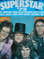 SUPERSTAR MAGAZINE APRIL 1973 - SLADE - MARC BOLAN - OSMONDS - NEW SEEKERS
