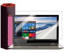 "Skinomi Pink Carbon Fiber Skin+Screen Protector for Toshiba Satellite Radius 14"""