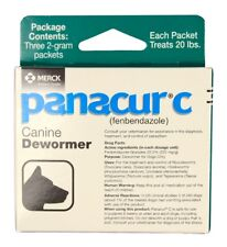 Panacur C Canine Dewormer Packets [2 g] (3 count)