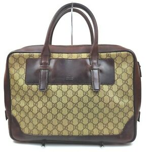 Gucci Business Bag  Browns PVC 632891