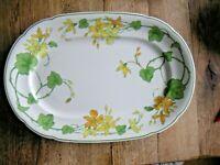 TOP 1 platte Villeroy & Boch Geranium wie neu! ca.39,5 x 26,5 cm