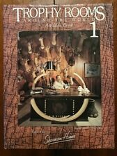 Trophy Rooms Around The World  Book Volume 1 Long Out of Print 1995 Hines RARE